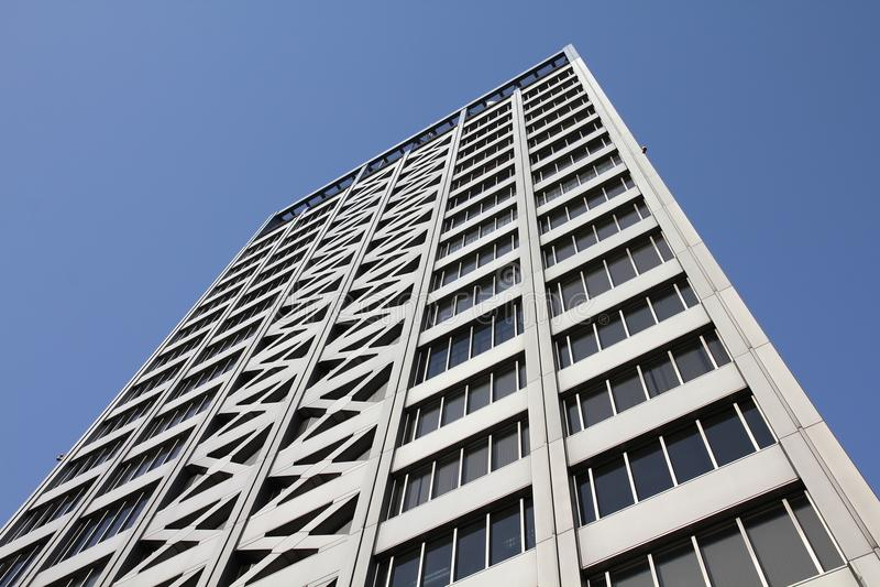 Skyskrapa i Nagoya arkivbild