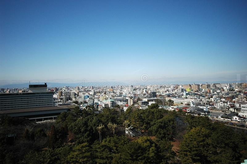 Nagoya city Japan stock images