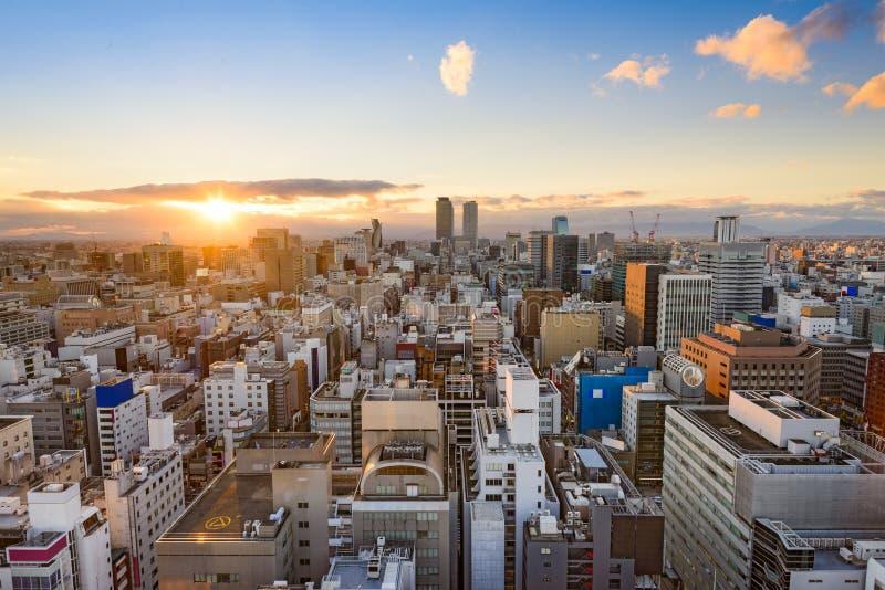 Nagoya, Japan Skyline stock photo