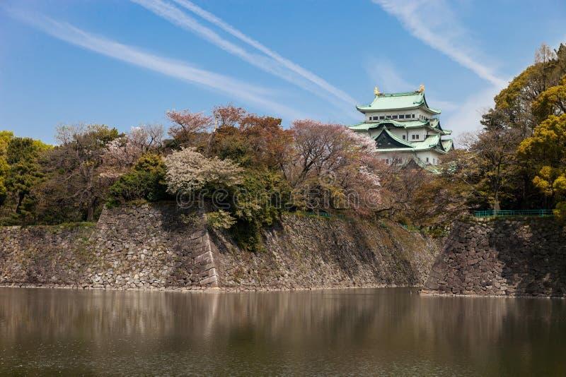 Nagoya-jo in Nagoya, Japan on April 9, 2016 Nagoya Castle in Japan. NAGOYA, JAPAN - April 9: Nagoya-jo in Nagoya, Japan on April 9, 2016 Nagoya Castle in Japan stock photography