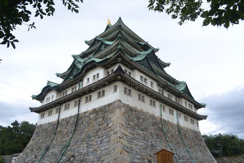 Nagoya-Schloss Aichi Japan lizenzfreie stockfotografie