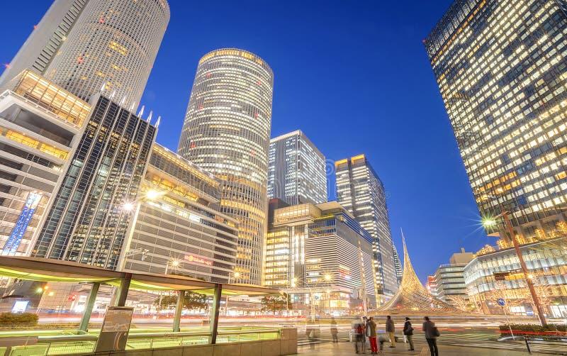 Nagoya stacja E r fotografia royalty free
