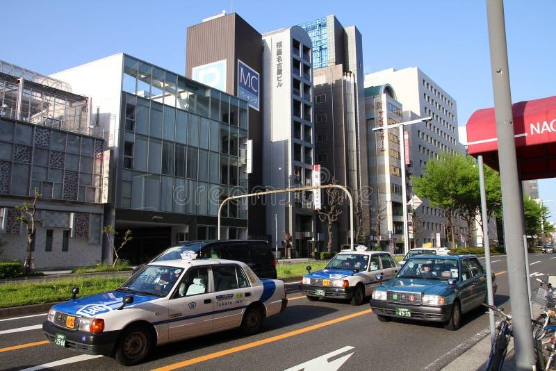 Nagoya taxi stock image