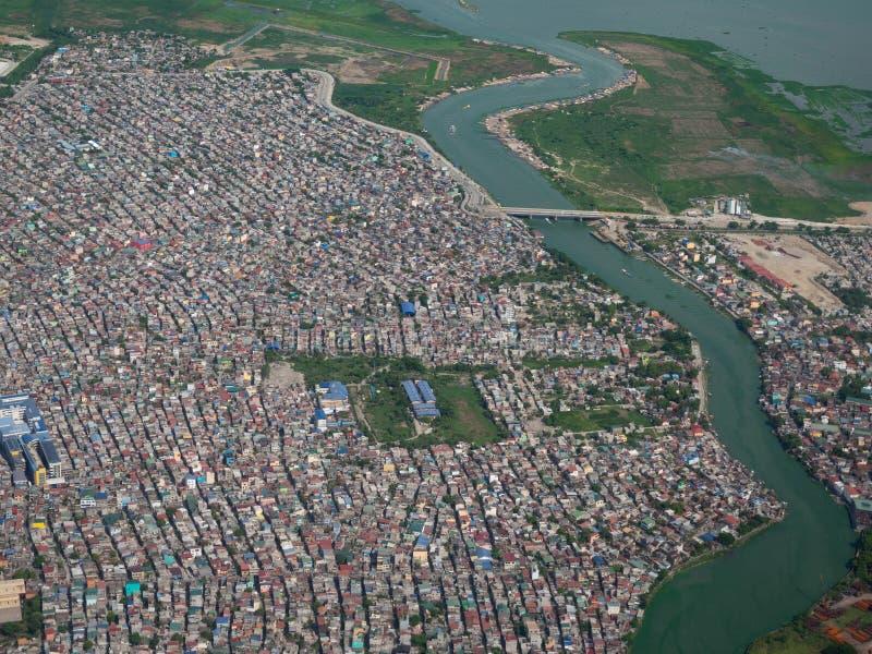 Nagpayong, città di Pasig, le Filippine fotografia stock