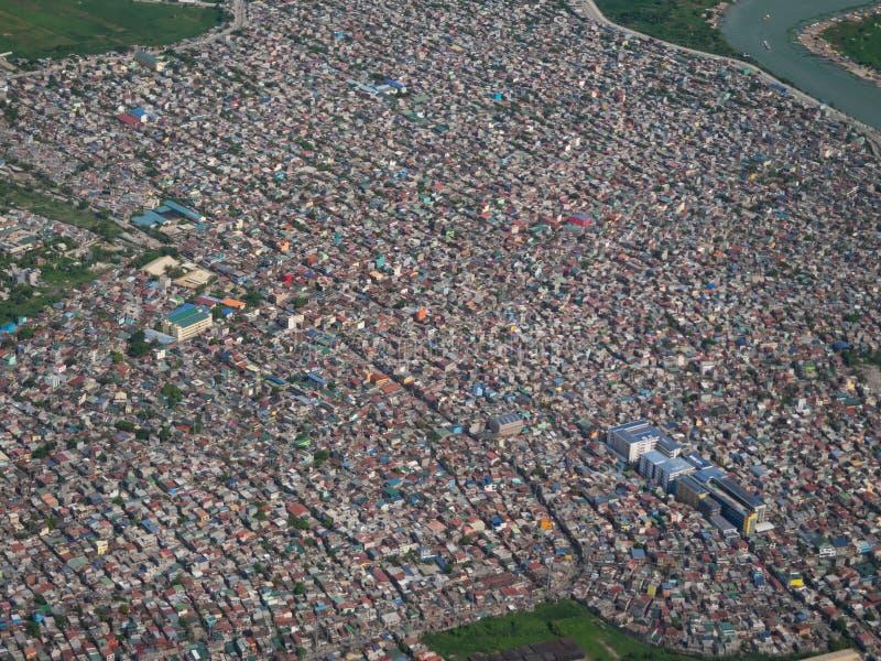 Nagpayong, ville de Pasig, les Philippines images libres de droits