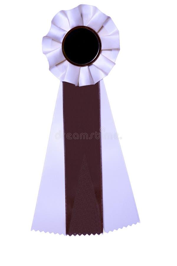 nagroda brown nagroda tasiemkowy white obraz stock