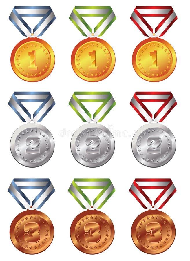 nagroda medal royalty ilustracja