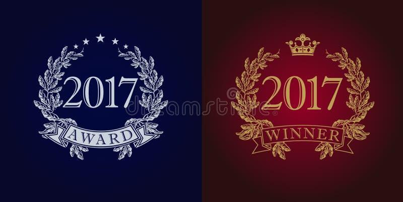 Nagroda rocznika 2017 logo ilustracji