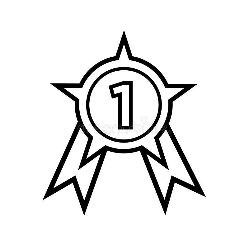 Nagrody ikony wektoru znak i symbol odizolowywający na białym tle, nagroda logo pojęcie ilustracji