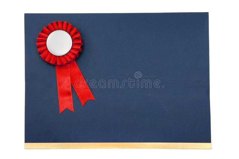 nagrody odznaki świadectw wstążki obraz stock