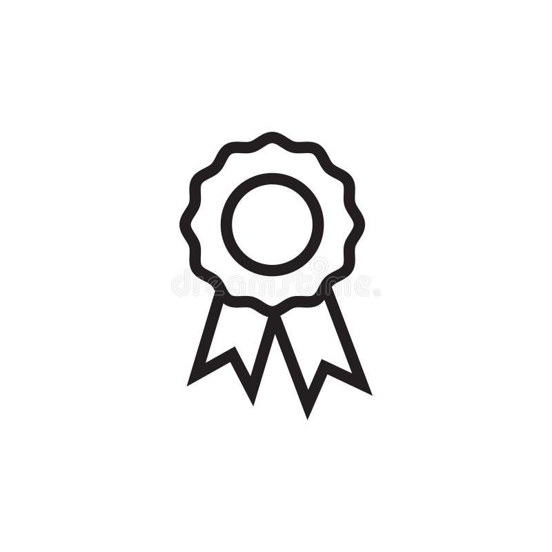 Nagrody odznaki ikony graficznego projekta szablonu wektor ilustracji
