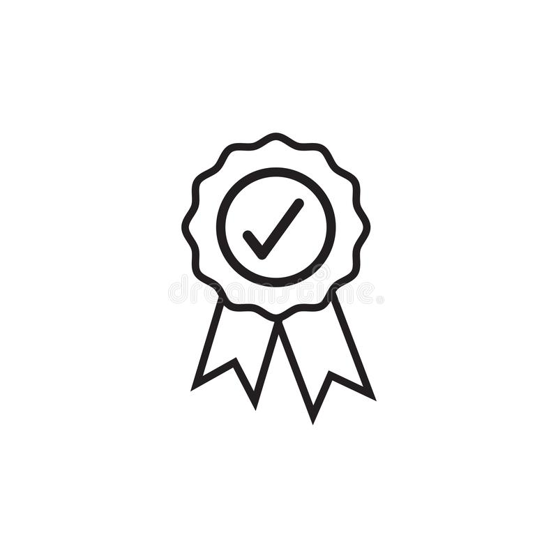 Nagrody odznaki ikony projekta szablonu wektorowa ilustracja odizolowywająca ilustracji
