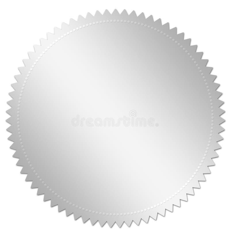 nagrody srebro royalty ilustracja