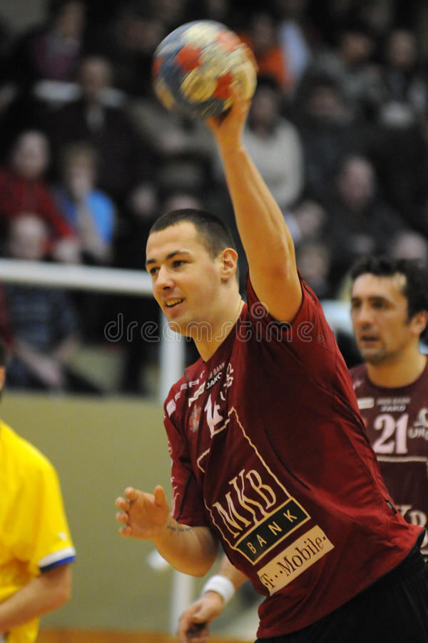 Nagyatad vs veszprem handball game stock photos