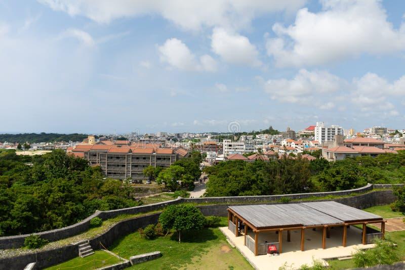 Naha City, Okinawa, Japón céntrico en el d3ia imagen de archivo libre de regalías