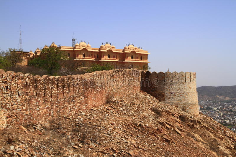 Download Nahagarh Fort stock photo. Image of hill, decorated, courtyard - 13899266