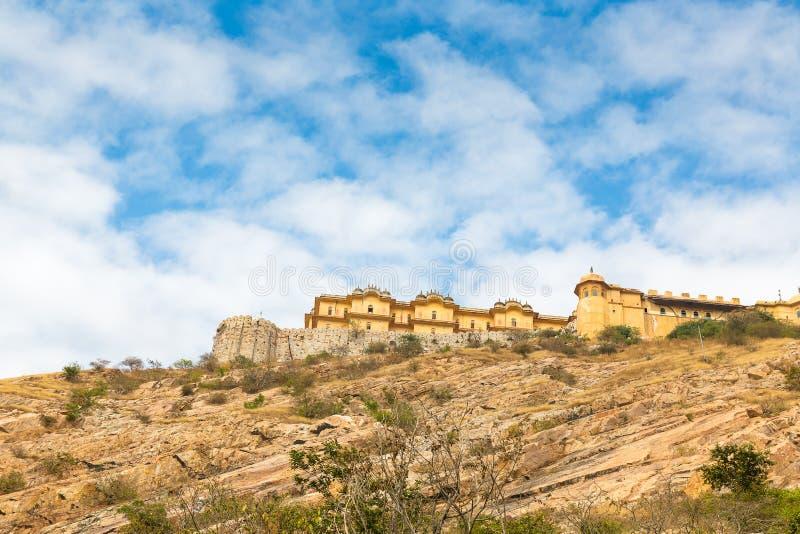 Nahargarh堡垒,斋浦尔,拉贾斯坦,印度 库存图片