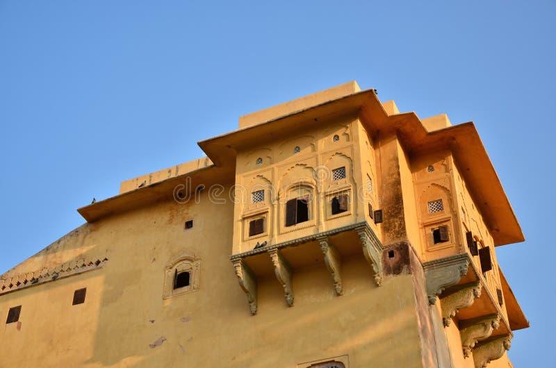 Nahargarh堡垒,斋浦尔,拉贾斯坦,印度 库存照片
