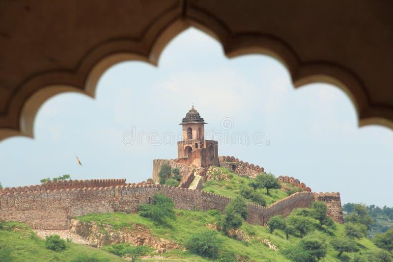 Nahargarh Fort. obraz stock