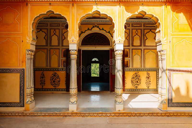 Nahargarh Fort in Jaipur, India. Nahargarh Fort historical building in Jaipur, India royalty free stock photo