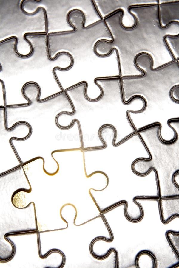 Nahaufnahme der Puzzlespiel-Stücke lizenzfreie stockfotografie