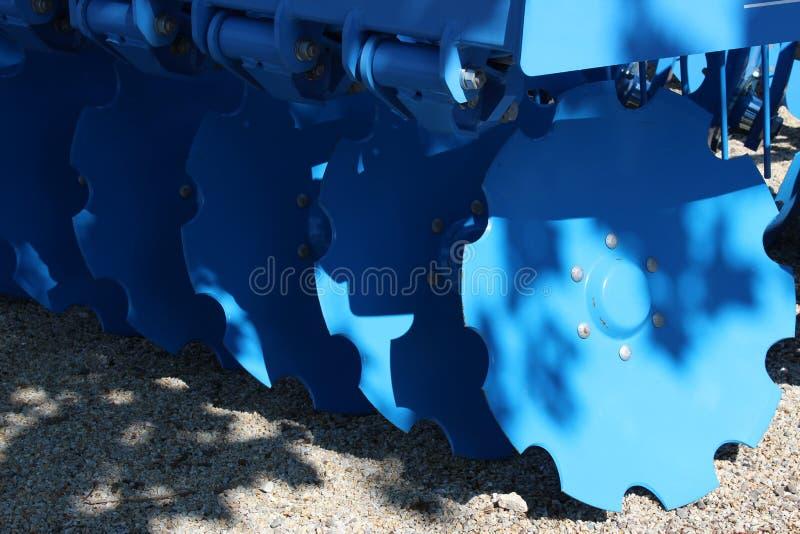 Nahaufnahme der Universalmaschine für die Kultivierung lizenzfreies stockfoto