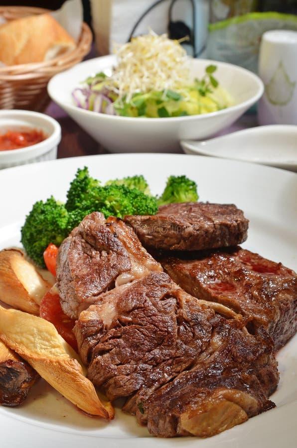 Beefsteak stockbild