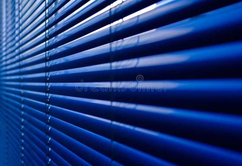 Nahaufnahme des Blendenverschlusses an einem Bürohaus lizenzfreie stockfotografie