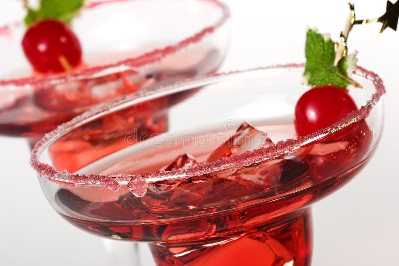 Nahaufnahme des Cocktails des indischen Sommers stockfoto