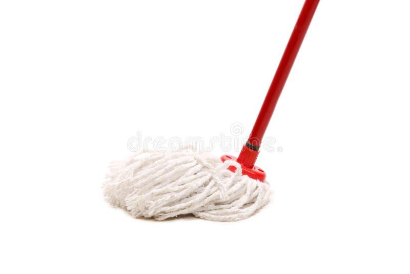 Nahaufnahme des roten Mops für das Säubern. lizenzfreie stockfotografie