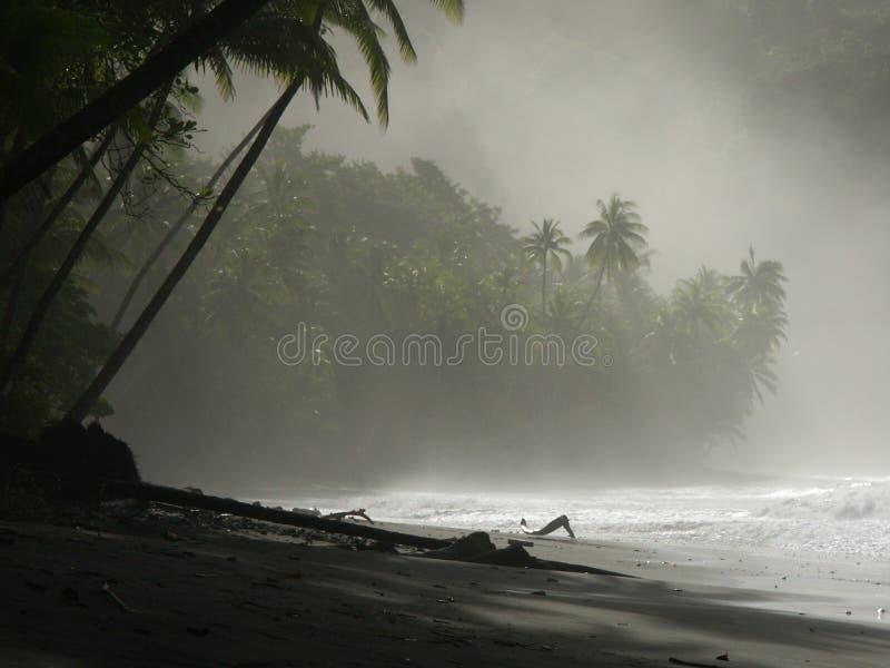 Download Nahaufnahme des Strandes stockbild. Bild von meer, wolken - 35153