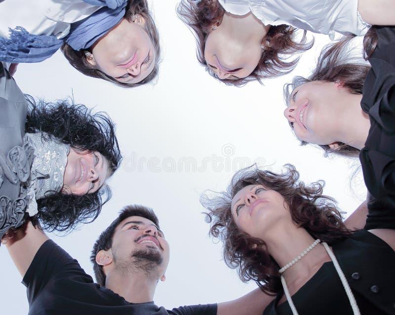 nahaufnahme Erfolgreiches Geschäfts-Team Das Konzept der Teamwork lizenzfreie stockbilder
