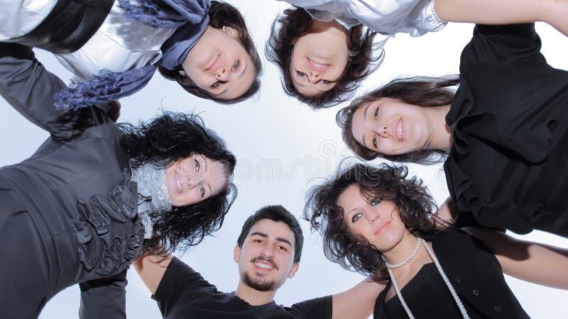 nahaufnahme Erfolgreiches Gesch?fts-Team Das Konzept der Teamwork lizenzfreies stockfoto