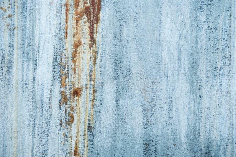 Nahaufnahme geschossen von der rostigen Metallbeschaffenheit stockfotos