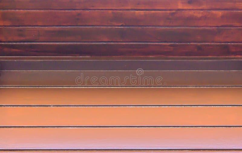 NAHAUFNAHME-Hintergrundbeschaffenheit der hölzernen Kabine Planken Browns alten Makro stockfotos