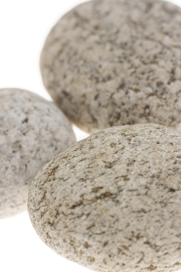 Nahaufnahme mit drei Steinen stockfotos
