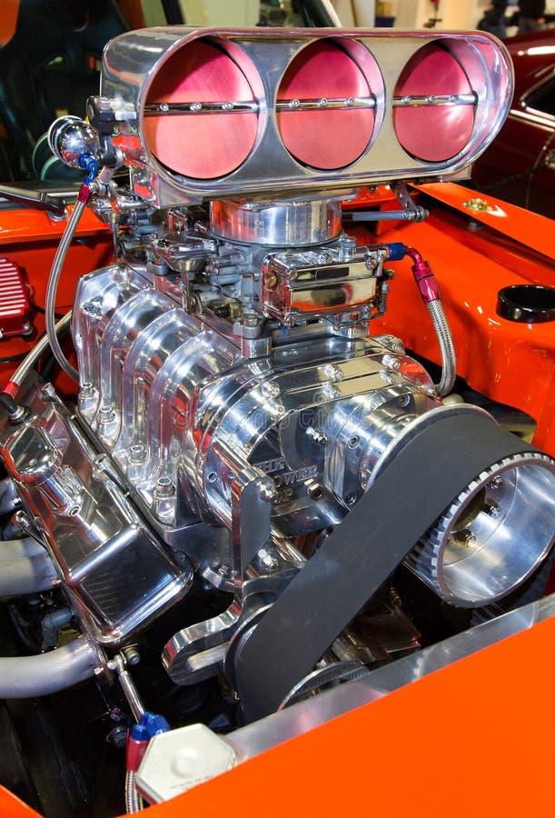 Muskel-Automotor lizenzfreies stockbild