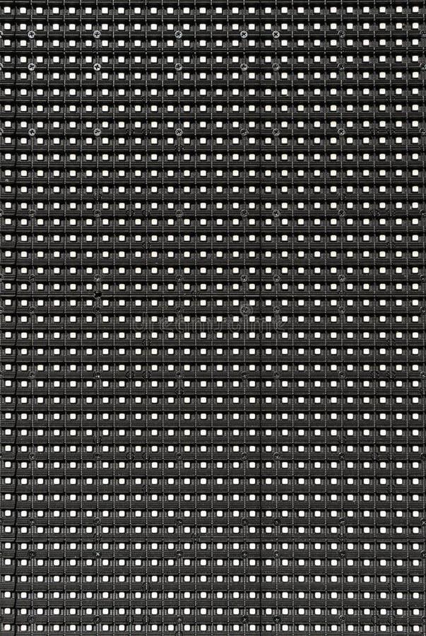 Nahaufnahme von LED-Werbetafel stockfotografie