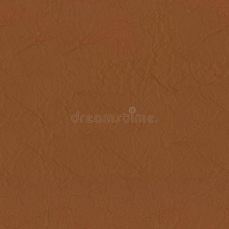 Nahaufnahmedetail über weiche braune lederne Beschaffenheit Nahtloser quadratischer Hintergrund, decken bereites mit Ziegeln lizenzfreies stockfoto