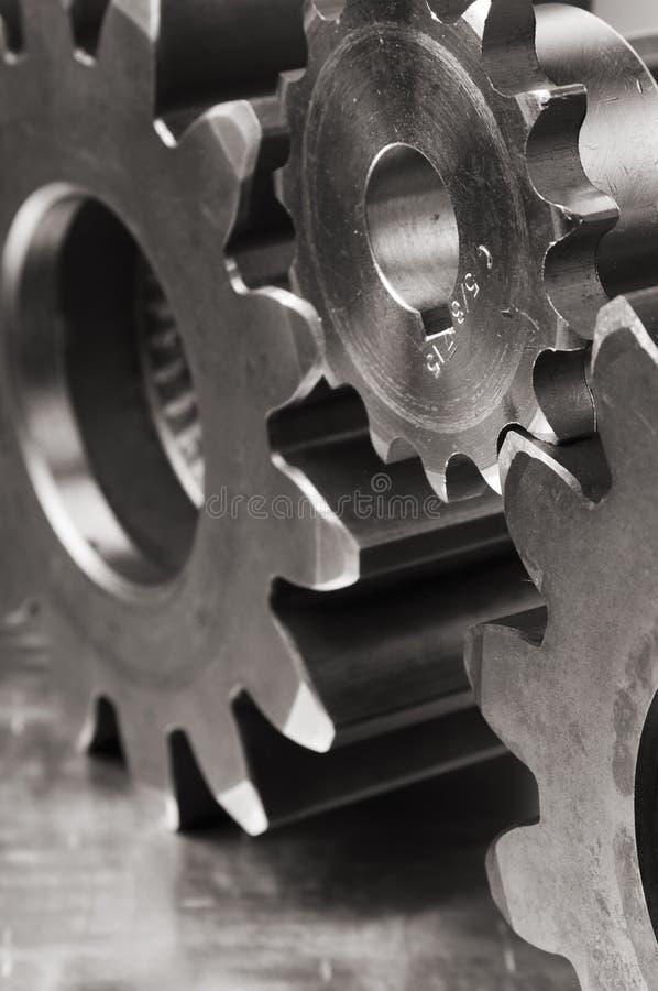 Nahaufnahmen der Mechaniker stockbild