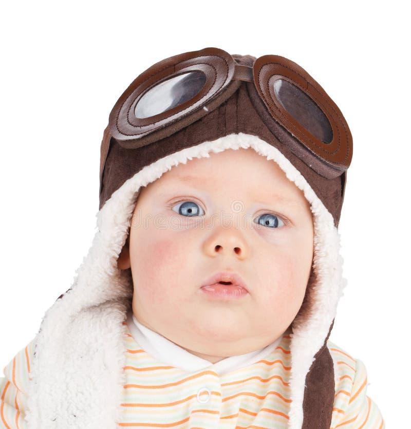 Nahaufnahmeporträt des netten Babys stockfotos