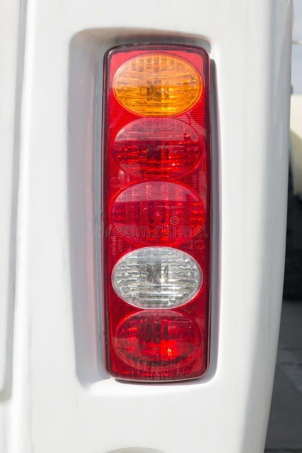 Nahaufnahmescheinwerfer Modernes Auto Konzept des teuren Autos stockbild