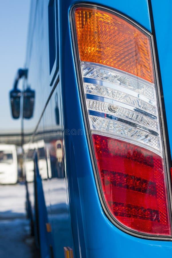 Nahaufnahmescheinwerfer Modernes Auto Konzept des teuren Autos lizenzfreie stockfotografie