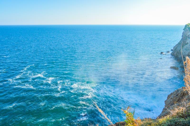 Nahe Duden-Wasserfällen lizenzfreie stockbilder