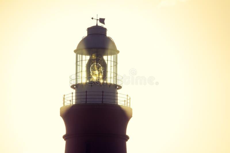 Download Nahe Hohe Ansicht Des Details Von Kap Agulhas Leuchtturm Stockfoto - Bild von leuchtturm, optik: 106801394