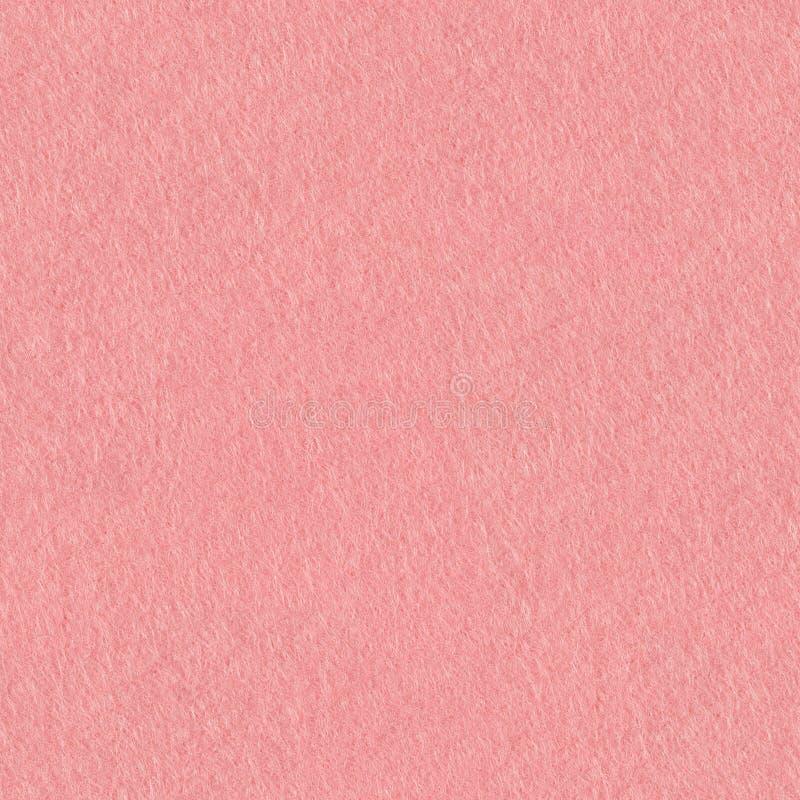 Nahe hohe Detailansicht eines rosa Stückes strukturierten Filzes Nahtloser quadratischer Hintergrund, decken bereites mit Ziegeln stockfotografie