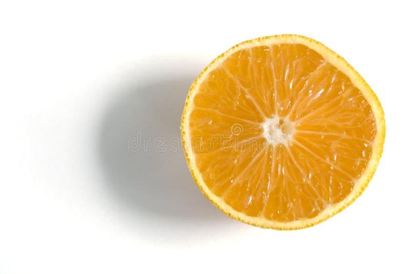 Nahes hohes der Orange stockfoto