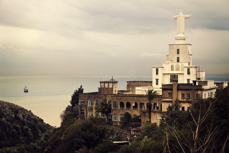 Nahr al-Kalb, Libanon stock fotografie