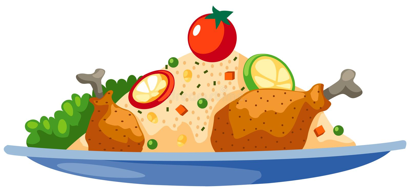 Nahrung stock abbildung