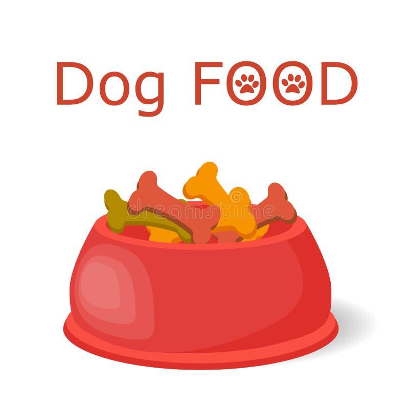 Nahrung für Haustiere in der Schüssel stockfotos